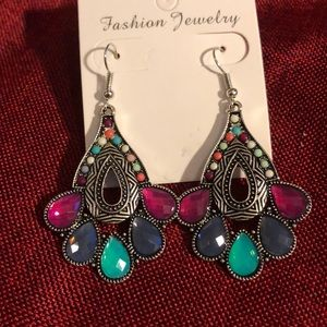 Beautiful boho style earrings